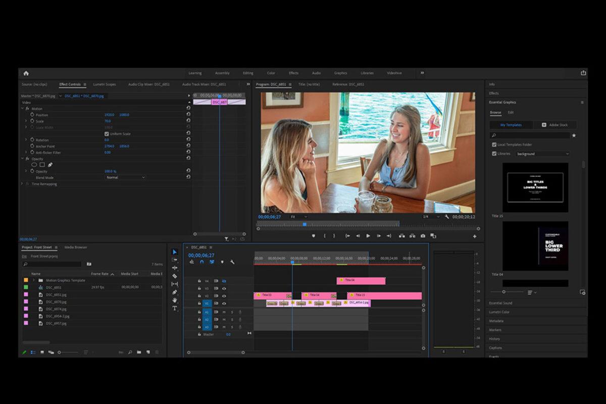 Video Capture, Design & Development